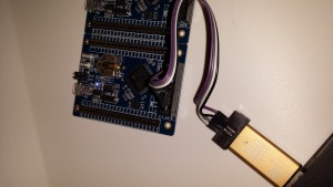 STLink/V2 clone talking to STM32F407